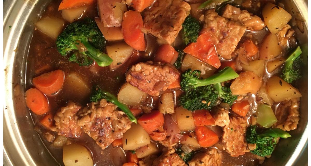 Savory Tempeh Stew