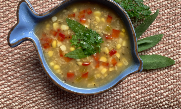 Corn and Millet Soup