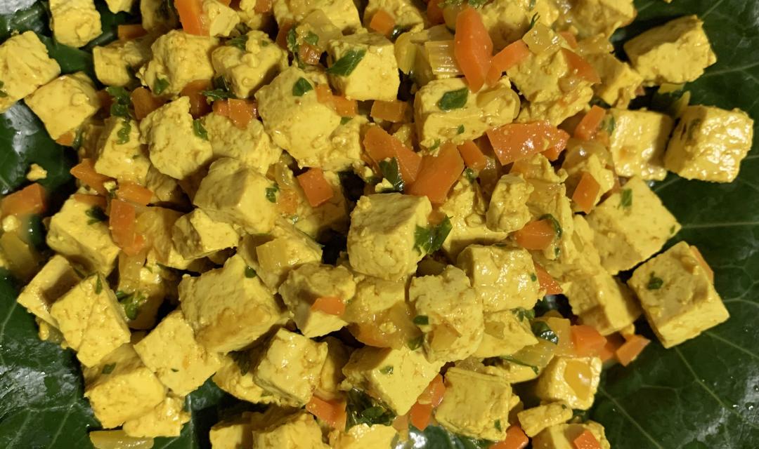 Scrambled Tofu